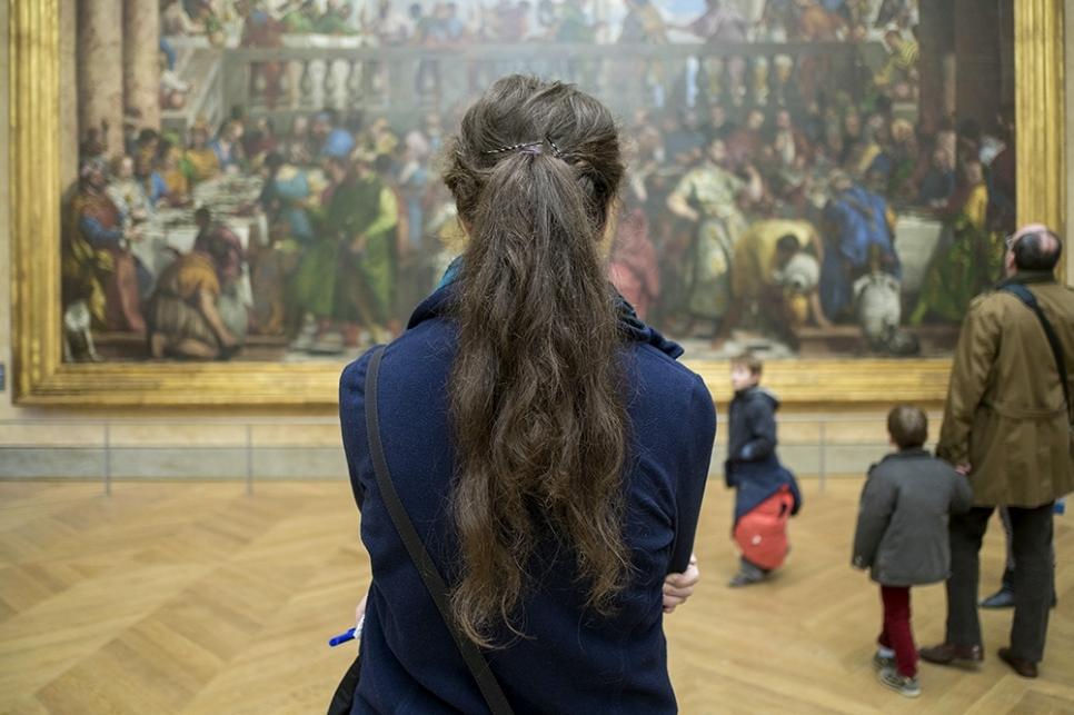 Мона Лиза, Париж, Франция
