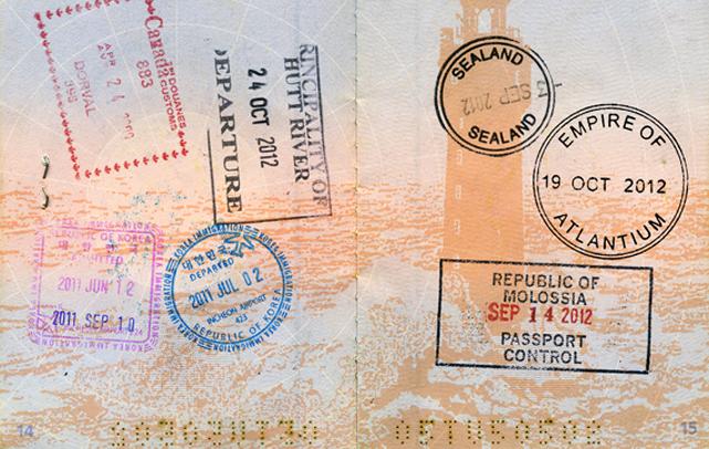 Иногда мне требовалось получить визу, чтобы посетить государство