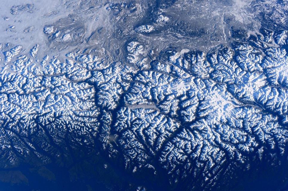 Скалистые горы, США
