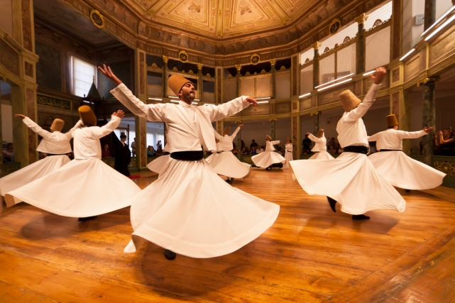 Турецкий танец в юбках видео