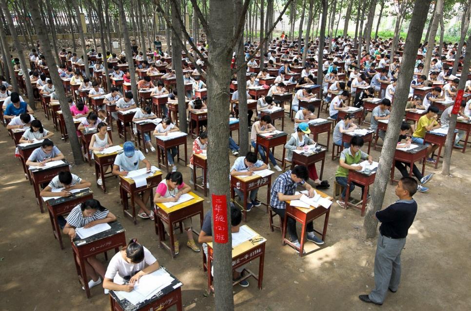 Выпускные экзамены в средней школе