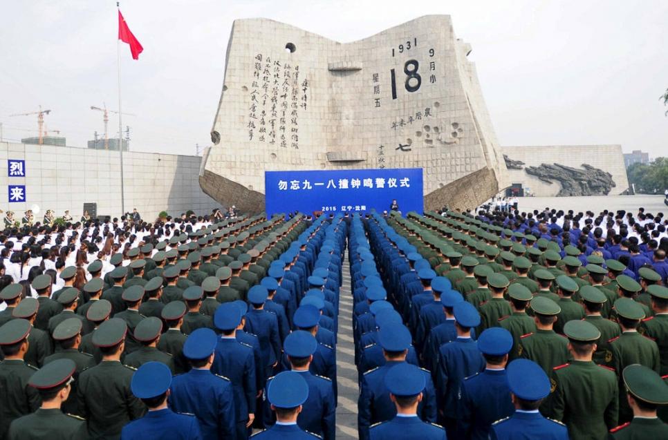 Солдаты на военной церемонии