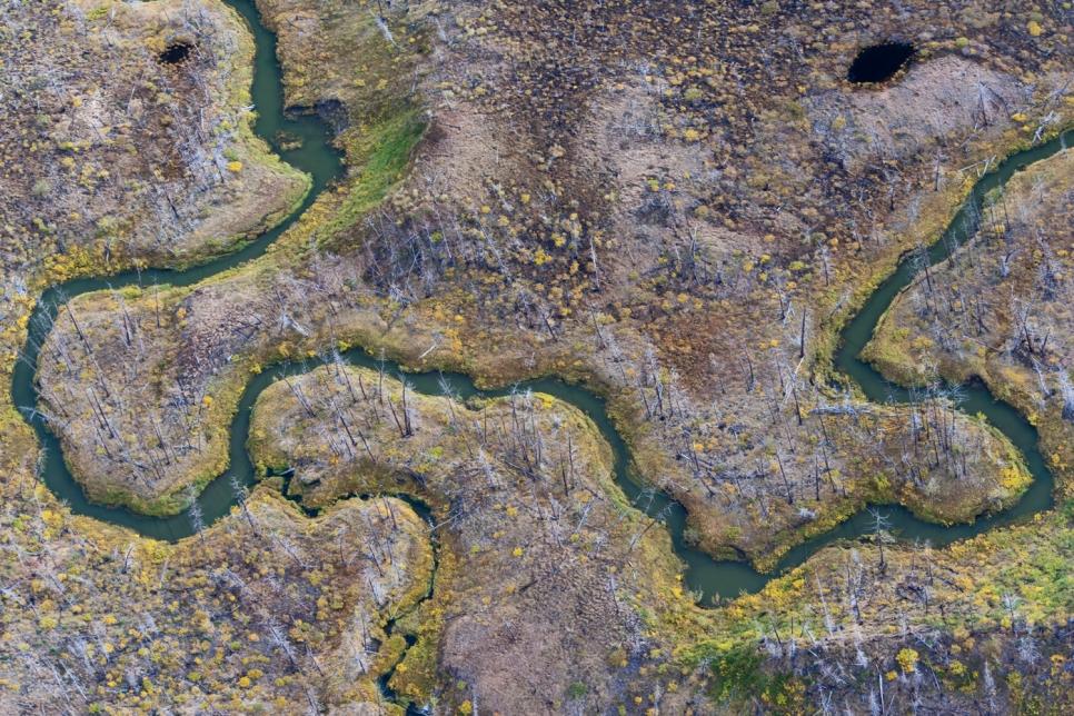 Русло реки, Кольский полуостров