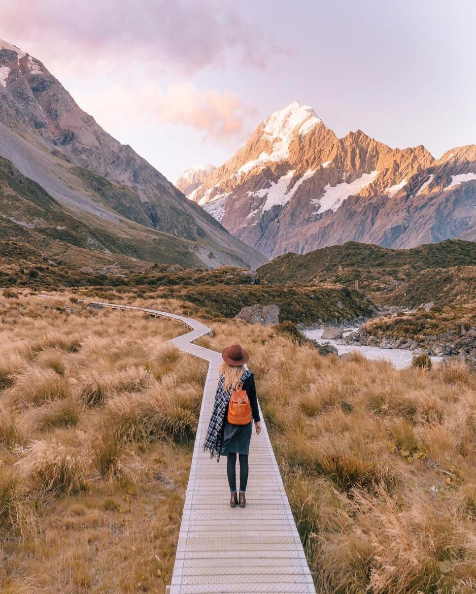 Горы Кук, Новая Зеландия