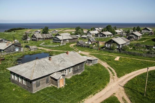 Деревня Ворзогоры, Архангельская область