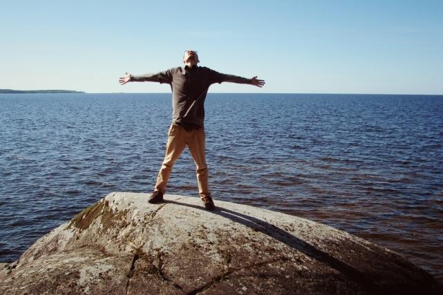 Сольный поход по берегу Онежского озера, август 2015. Фото: Иван Кузнецов