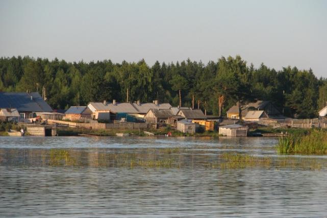 Вид на поселок Шальский