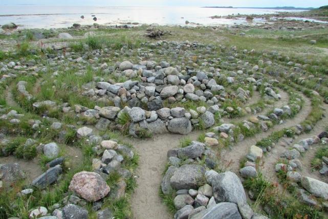 Каменные лабиринты саамов