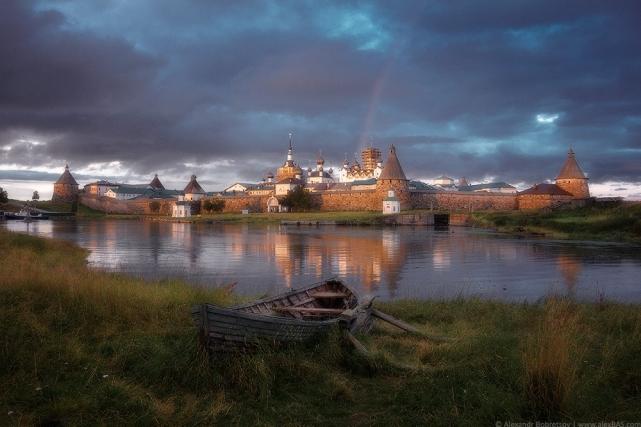 Соловетский монастырь и крепость