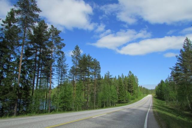 Дорога в национальный парк