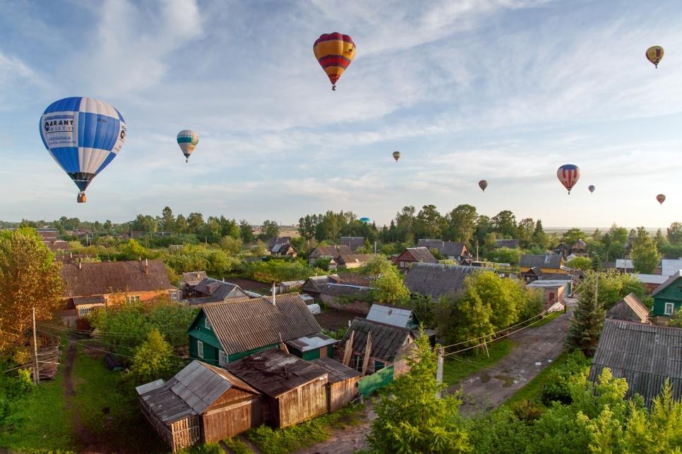 Фестиваль воздухоплавания, Псковская область