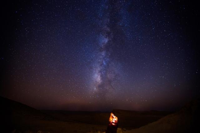 Пустыня на юге Израиля