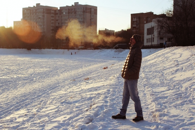 Где-то в Свиблово, Москва, зима 2015