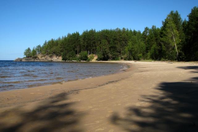 Почти тропический пляж