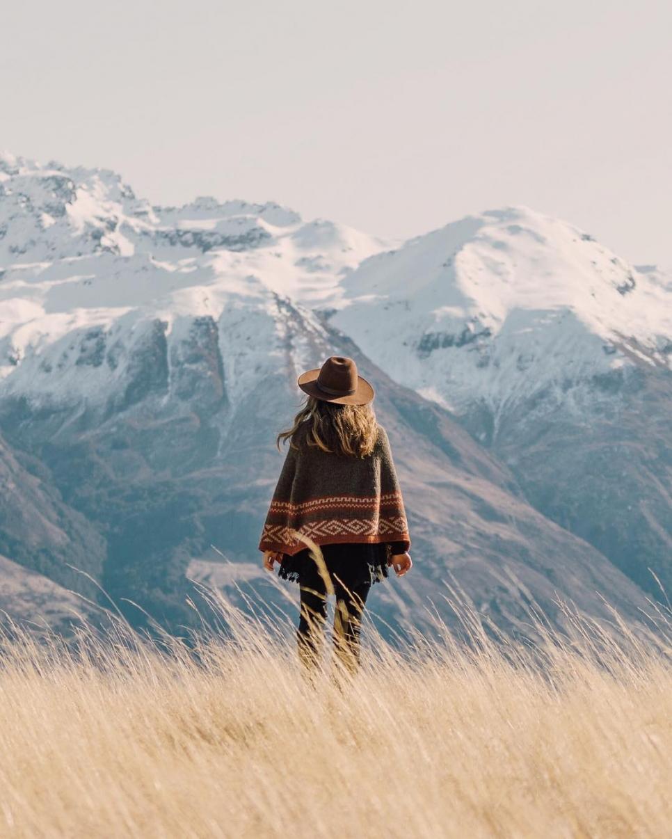 Где-то в горах, Новая Зеландия