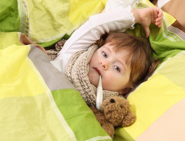 Ребенок перед отпуском заболел