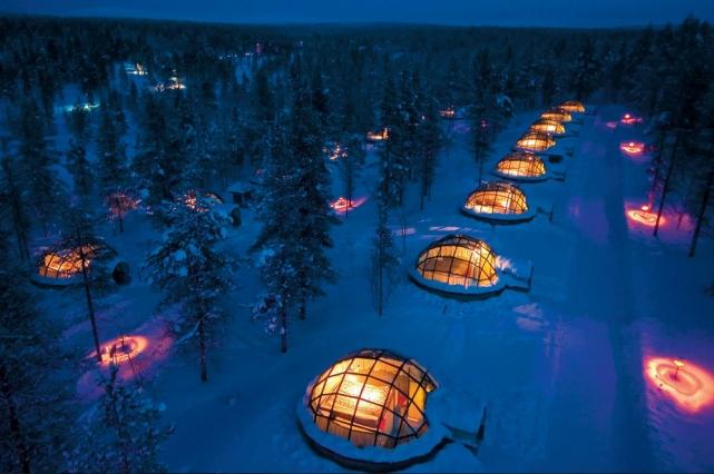 Отель-иглу Kakslauttanen, Финляндия